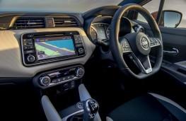 Nissan Micra, comtrols