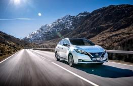 Nissan Leaf, front