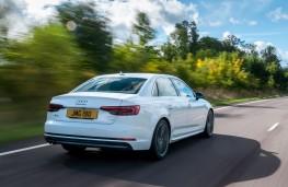Audi A4 Rear Action