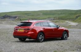 Mazda 6 Tourer, rear quarter