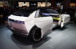 Hyundai 45 Concept, rear