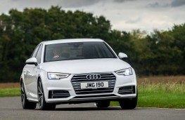 Audi A4 Front Action 2