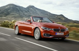 BMW 4 Series Convertible, 2017, front