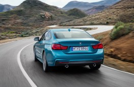 BMW 4 Series Coupe, 2017, rear