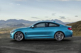 BMW 4 Series Coupe, 2017, side