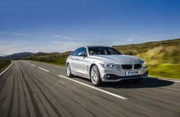 BMW 4 Series Gran Coupe, front, action