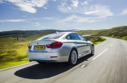 BMW 4 Series Gran Coupe, rear