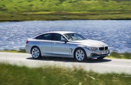BMW 4 Series Gran Coupe, side