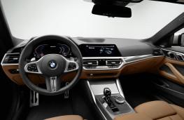 BMW 4 Series Coupe, 2020, interior