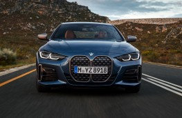 BMW 4 Series Coupe, 2020, nose