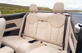 BMW 4 Series Coupe, 2020, rear seats