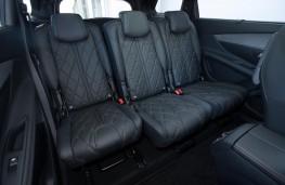 Peugeot 5008, rear seats