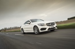Mercedes-Benz C-Class Coupe, dynamic