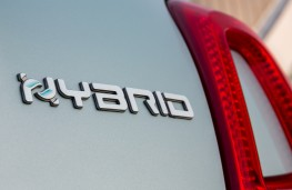 Fiat 500 hybrid, 2020, badge