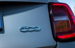 Fiat 500, 2020, badge