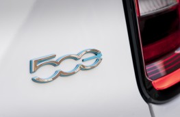 Fiat 500e, 2021, badge