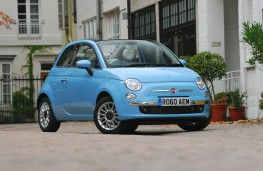 Fiat 500C TwinAir, front