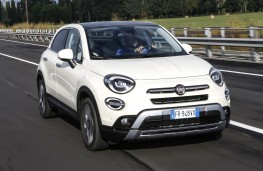 Fiat 500X City Cross, 2018, front, action