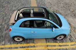 Fiat 500C TwinAir, side