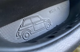 Fiat 500, 2020, Made in Turin, door pull