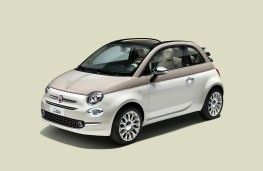 Fiat 500-60TH, special edition, front
