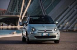 Fiat 500 hybrid, 2020, front