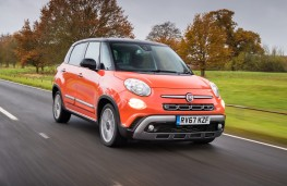 Fiat 500L Cross, 2017, front, action