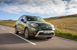 Fiat 500X, 2018, front, action