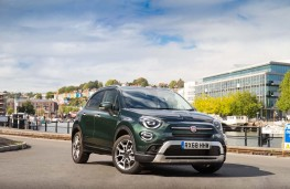 Fiat 500X, 2018, front, static