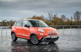 Fiat 500L Cross, 2017, front, static