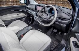 Fiat 500e, 2021, interior
