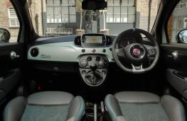 Fiat 500, 2020, hybrid, interior