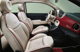 Fiat 500-60TH, special edition, interior