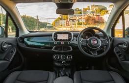 Fiat 500X, 2018, interior