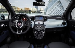 Fiat 500 hybrid, 2020, interior