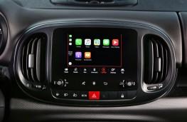 Fiat 500L Cross, 2017, display screen