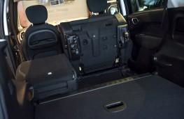 Fiat 500L Cross, 2017, seats, folded