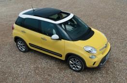 Fiat 500L Trekking, side