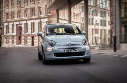 Fiat 500, 2020, hybrid, nose