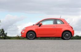 Fiat 500, 2015, side