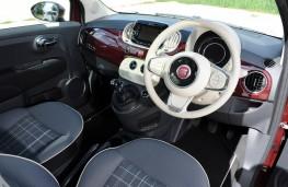 Fiat 500 TwinAir, 2015, interior
