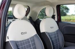 Fiat 500 TwinAir, 2015, seats
