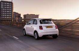 Fiat 500e, 2021, rear