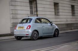 Fiat 500, 2020, hybrid, rear