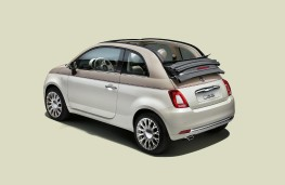 Fiat 500-60TH, special edition, rear