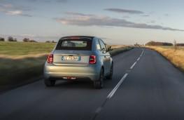 Fiat 500, 2020, rear