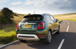 Fiat 500X, 2018, rear, action