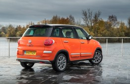 Fiat 500L Cross, 2017, rear, static