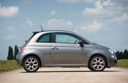 Fiat 500S, side