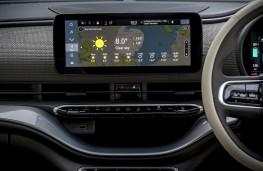 Fiat 500e, 2021, display screen